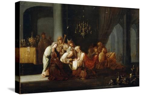 The Circumcision, 17th Century-Jacob Willemsz de Wet-Stretched Canvas Print