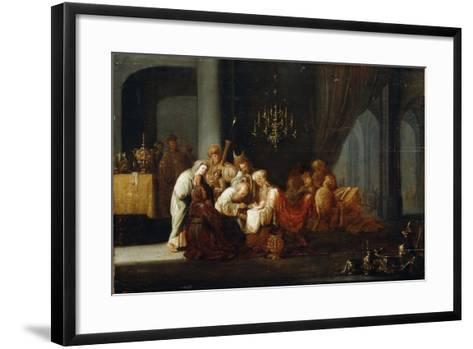 The Circumcision, 17th Century-Jacob Willemsz de Wet-Framed Art Print