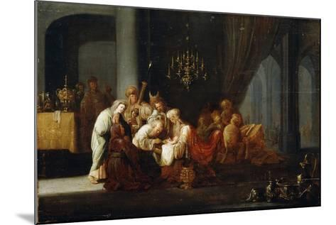 The Circumcision, 17th Century-Jacob Willemsz de Wet-Mounted Giclee Print