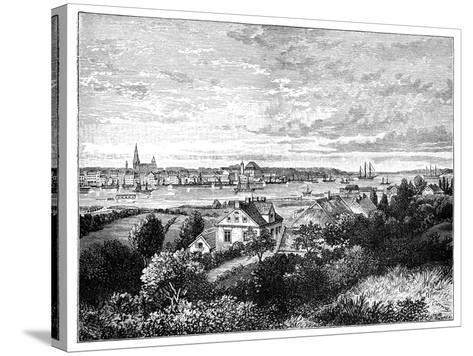 Kiel, Germany-J Carreras-Stretched Canvas Print