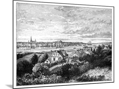 Kiel, Germany-J Carreras-Mounted Giclee Print