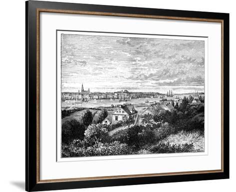 Kiel, Germany-J Carreras-Framed Art Print