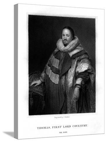 Thomas Coventry, First Lord Coventry-J Parker-Stretched Canvas Print