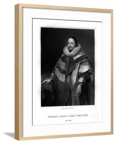Thomas Coventry, First Lord Coventry-J Parker-Framed Art Print