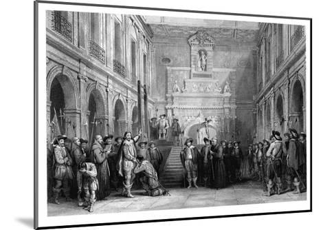 The Execution of Montmorenci, Court of the Hotel De Ville, Toulouse, 1632--Mounted Giclee Print