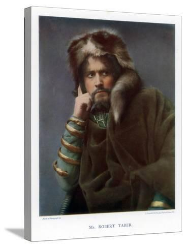 Robert Taber, Actor, 1901-J Caswall Smith-Stretched Canvas Print