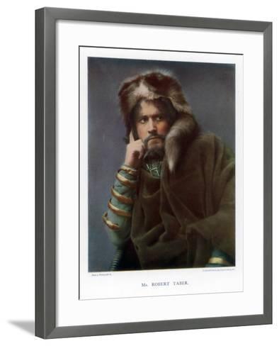 Robert Taber, Actor, 1901-J Caswall Smith-Framed Art Print