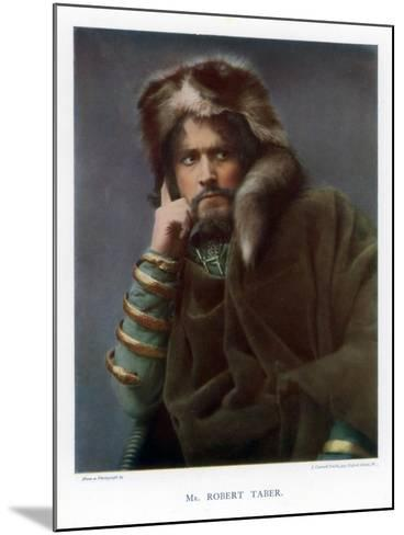 Robert Taber, Actor, 1901-J Caswall Smith-Mounted Giclee Print