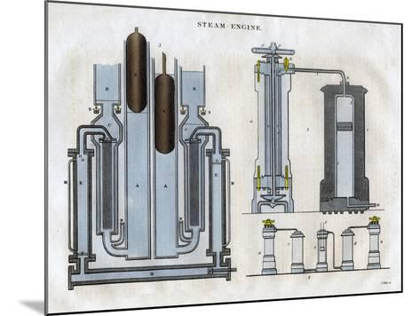 Isambard Kingdom Brunel's Steam Engine, 1827-J Pass-Mounted Giclee Print