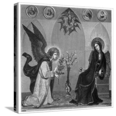 The Annunciation, 1333-J Petot-Stretched Canvas Print