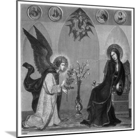 The Annunciation, 1333-J Petot-Mounted Giclee Print