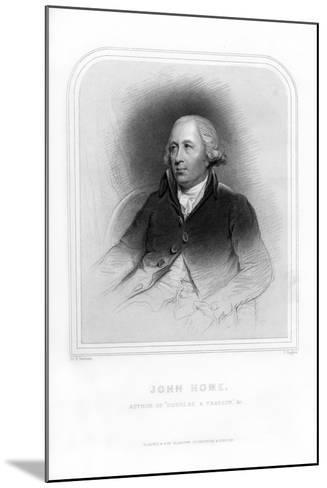 John Home, Scottish Poet and Dramatist-J Rogers-Mounted Giclee Print