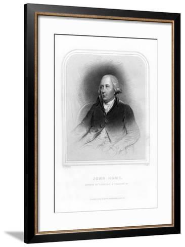 John Home, Scottish Poet and Dramatist-J Rogers-Framed Art Print