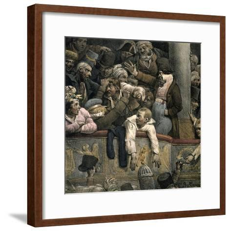Theatre, Late 16th-Early 17th Century-Jacques Bellange-Framed Art Print