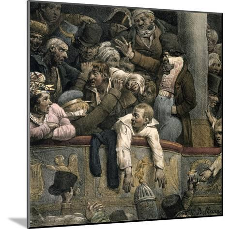 Theatre, Late 16th-Early 17th Century-Jacques Bellange-Mounted Giclee Print