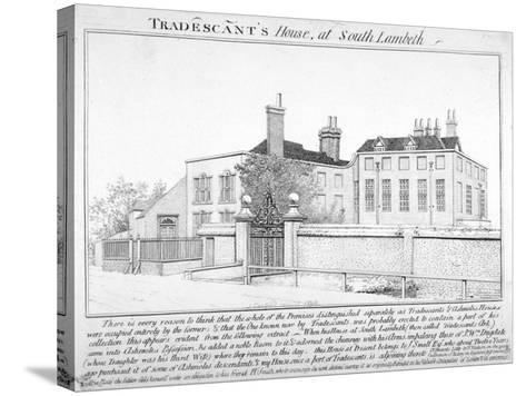 Tradescant's House, South Lambeth, London, 1798-J Caulfield-Stretched Canvas Print