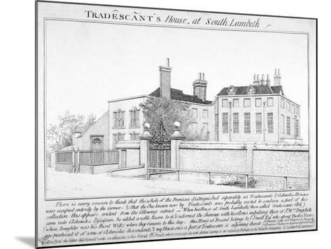 Tradescant's House, South Lambeth, London, 1798-J Caulfield-Mounted Giclee Print