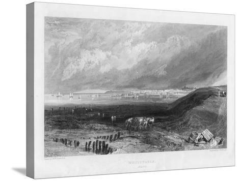 Whitstable, Kent, 19th Century-J Horsburgh-Stretched Canvas Print