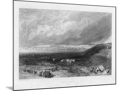 Whitstable, Kent, 19th Century-J Horsburgh-Mounted Giclee Print