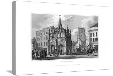 Chichester Cross, Chichester, West Sussex, 1829-J Rogers-Stretched Canvas Print