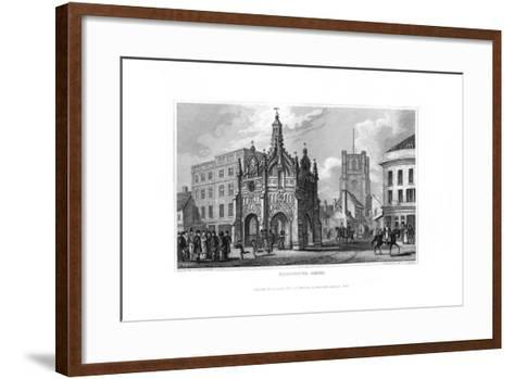 Chichester Cross, Chichester, West Sussex, 1829-J Rogers-Framed Art Print