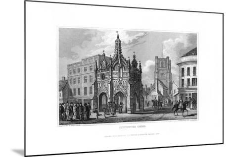 Chichester Cross, Chichester, West Sussex, 1829-J Rogers-Mounted Giclee Print