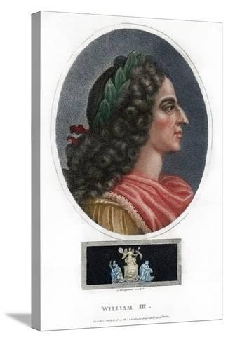 William III, King of England, Scotland and Ireland-J Chapman-Stretched Canvas Print