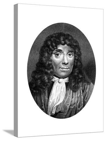 Antoni Van Leeuwenhoek, Dutch Pioneer of Microscopy-J Chapman-Stretched Canvas Print