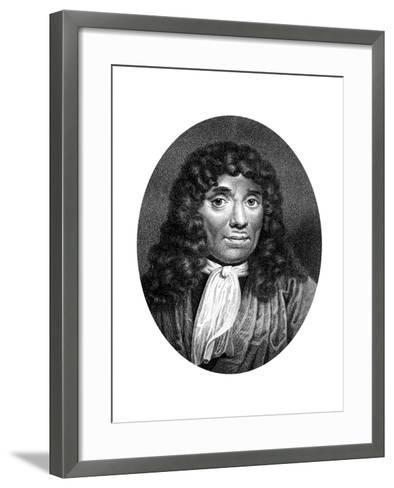 Antoni Van Leeuwenhoek, Dutch Pioneer of Microscopy-J Chapman-Framed Art Print