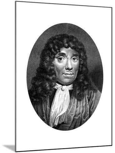 Antoni Van Leeuwenhoek, Dutch Pioneer of Microscopy-J Chapman-Mounted Giclee Print