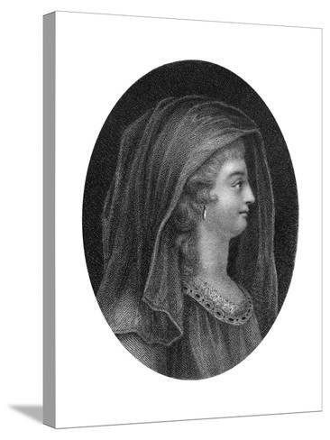 Lady Jane Grey, Queen of England-J Chapman-Stretched Canvas Print