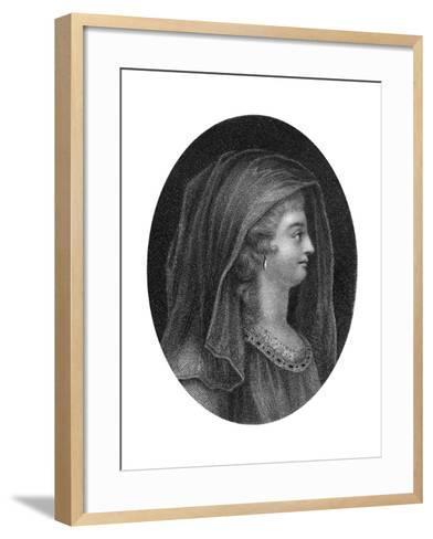 Lady Jane Grey, Queen of England-J Chapman-Framed Art Print