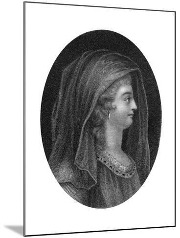Lady Jane Grey, Queen of England-J Chapman-Mounted Giclee Print