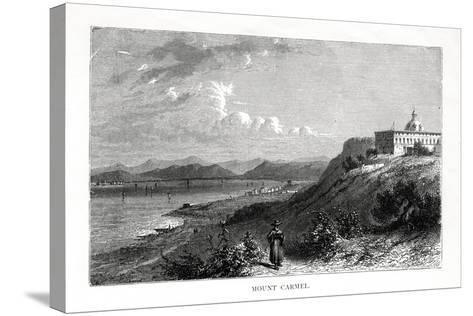 Mount Carmel, Israel, 19th Century-J Quartley-Stretched Canvas Print