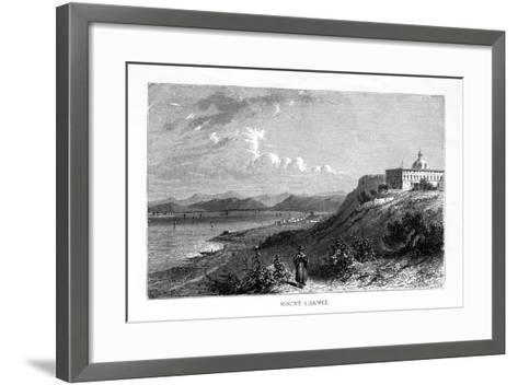 Mount Carmel, Israel, 19th Century-J Quartley-Framed Art Print