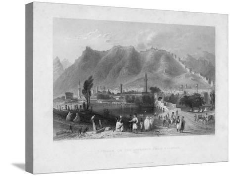 Antioch, on the Approach from Suadeah, 1836-J Redaway-Stretched Canvas Print