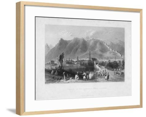 Antioch, on the Approach from Suadeah, 1836-J Redaway-Framed Art Print