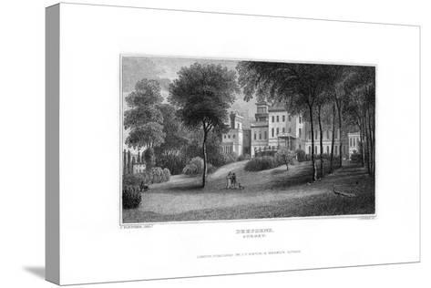 Deepdene, Dorking, Surrey, 1829-J Rogers-Stretched Canvas Print