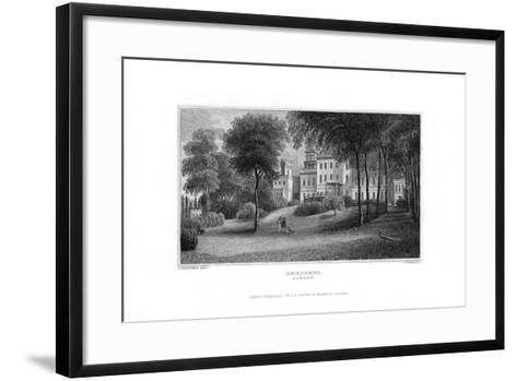 Deepdene, Dorking, Surrey, 1829-J Rogers-Framed Art Print