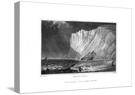 Beachy Head, East Sussex, 1829-J Rogers-Stretched Canvas Print