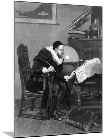 The Astrologer, C19th Century-J Demannez-Mounted Giclee Print