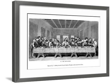The Last Supper, 1843-J Jackson-Framed Art Print