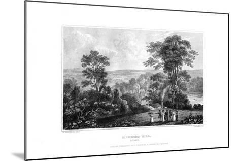 Richmond Hill, Surrey, England, 1829-J Rogers-Mounted Giclee Print