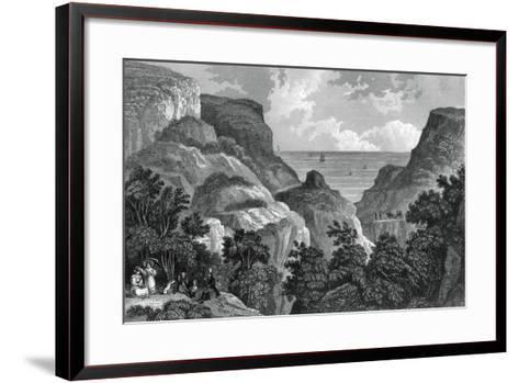 Danes Dyke, C19th Century-J Rogers-Framed Art Print