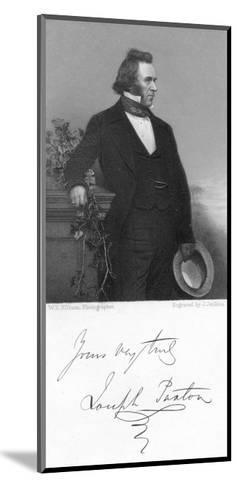 Joseph Paxton, English Gardener and Architect, 1853-J Jenkins-Mounted Giclee Print