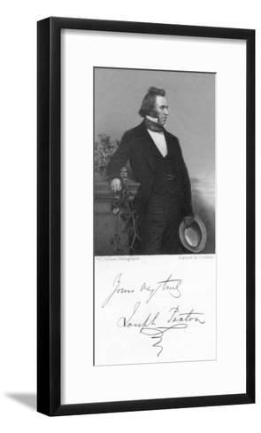 Joseph Paxton, English Gardener and Architect, 1853-J Jenkins-Framed Art Print