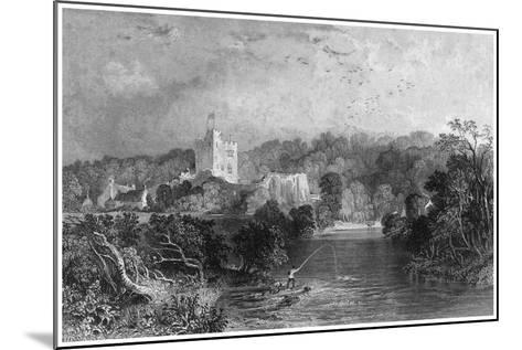 Bothal Castle, Northumberland, 19th Century-J Sands-Mounted Giclee Print