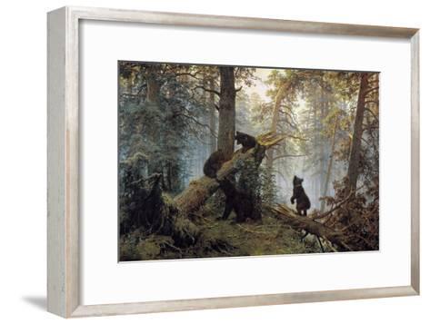 Morning in a Pinewood, 1889-Ivan Shishkin-Framed Art Print