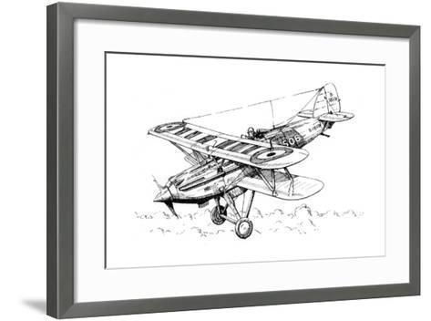 A Hawker Nimrod Aeroplane, C1930S-James Hay Stevens-Framed Art Print