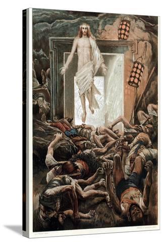 The Resurrection, C1890-James Jacques Joseph Tissot-Stretched Canvas Print
